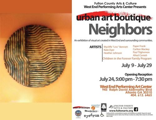 Art Exhibit Post Card