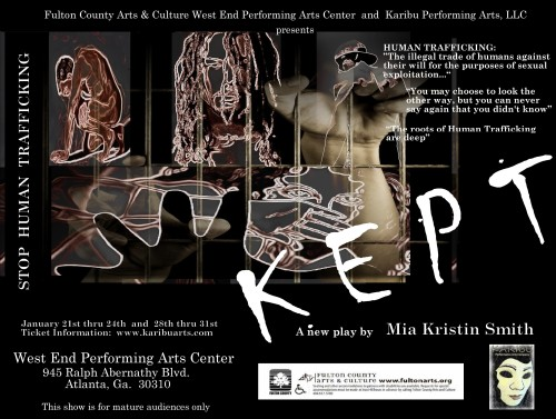 KEPT and Westend Community Arts Center Flyer Master