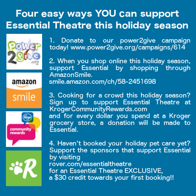 Can support essential theatre this holiday season essential theatre
