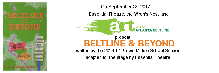 Essential Theatre's Art on the Atlanta BeltLine performance is September 23. Join us!