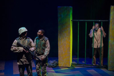 Essential Artist Kevin Stillwell puts on a startling and frank performance in Bengal Tiger at the Baghdad Zoo, running through October 8 at 7Stages.