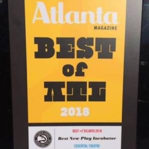 Best of ATL plaque SQ