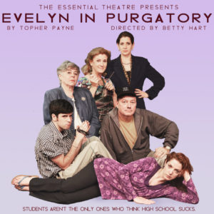 Evelyn in Purgatory show graphic