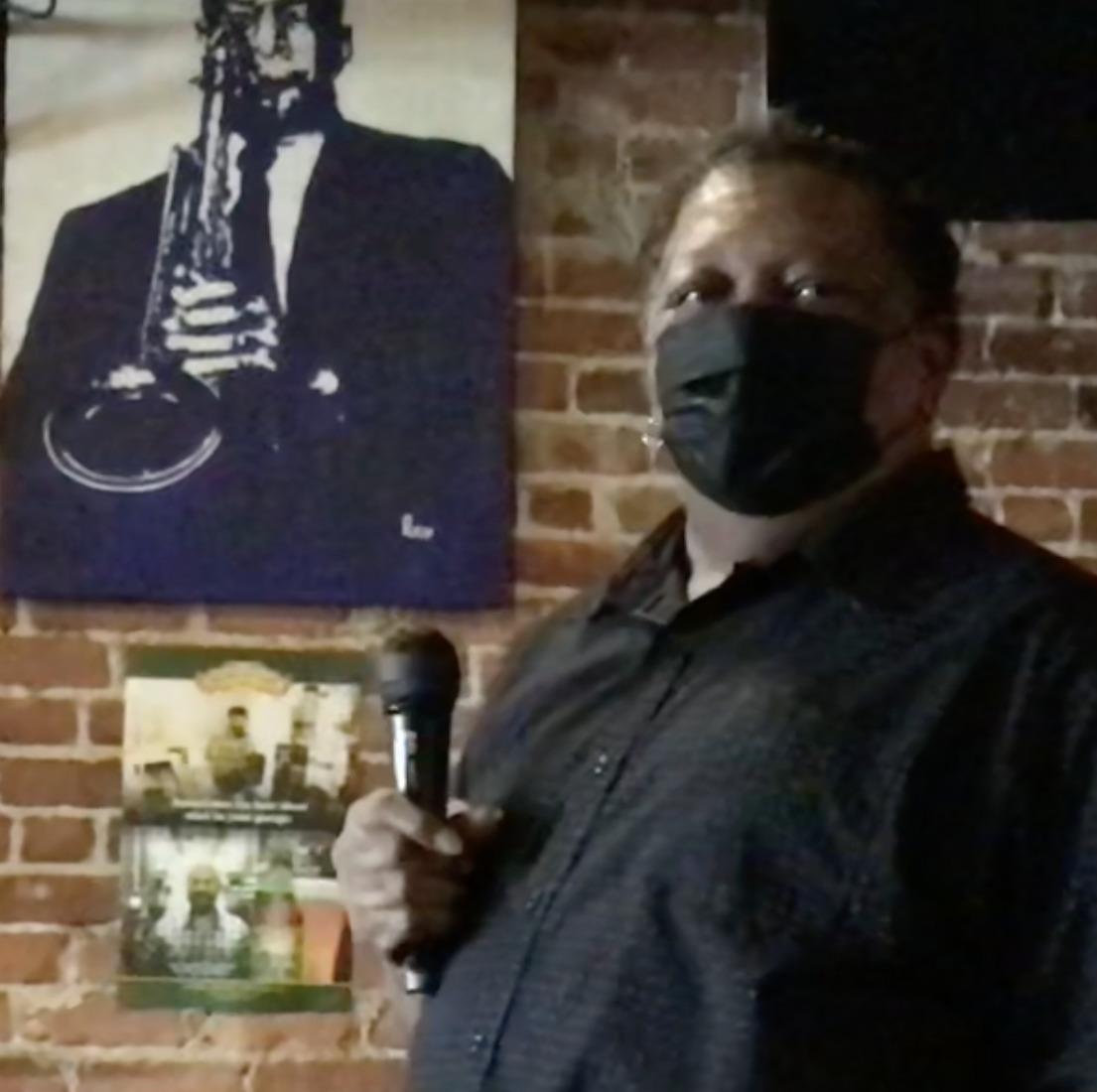 Anthony Lamarr White at Celebration of GA Playwrights